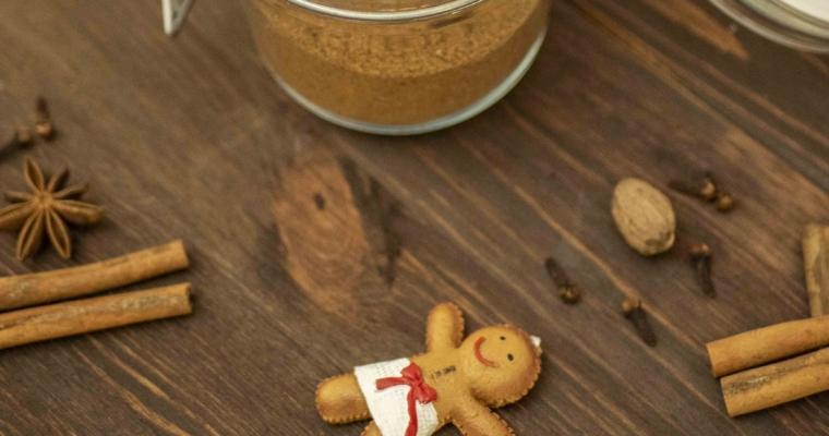 Magiczny, świąteczny składnik – domowa przyprawa do piernika :)