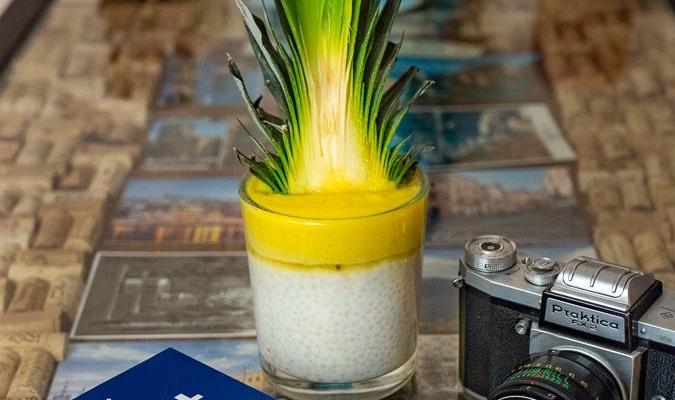 Piña colada – bezalkoholowy deser z tapioki :)